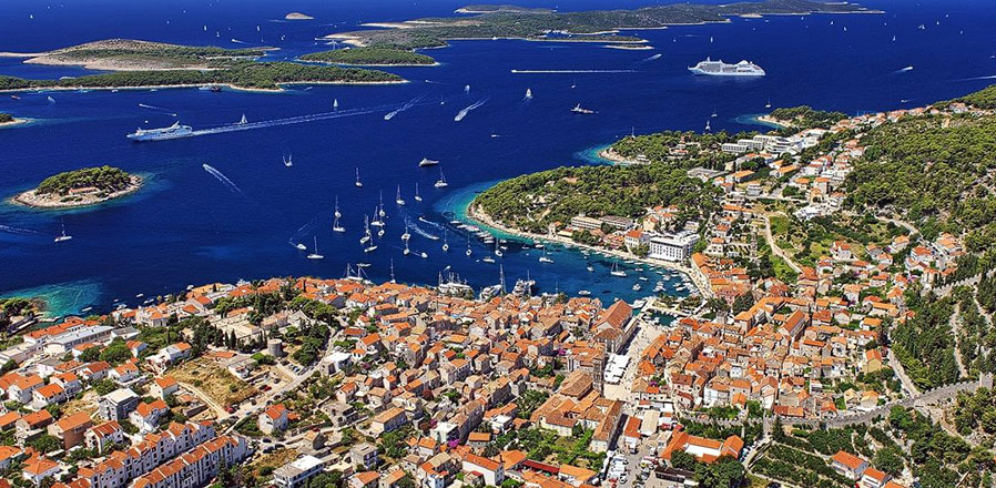 Hvar, island of Hvar, Croatia