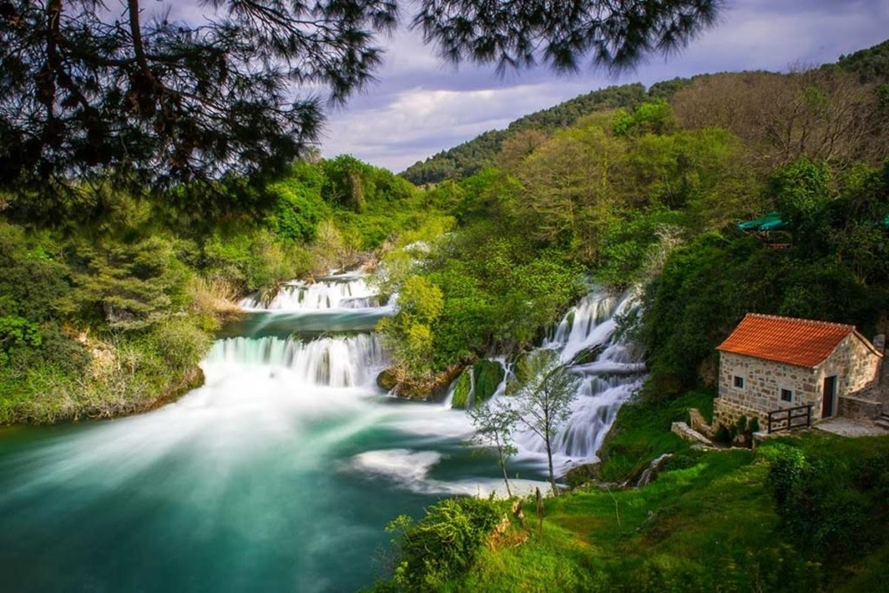 River Krka, croatia